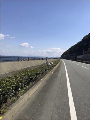 鳴門海沿い